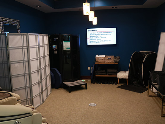 Whole Body Cryotherapy Chamber and Far Infrared Sauna Living Well Balanced
