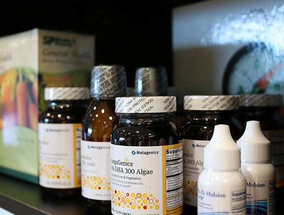 Nutritional Supplements available at our Medical Center